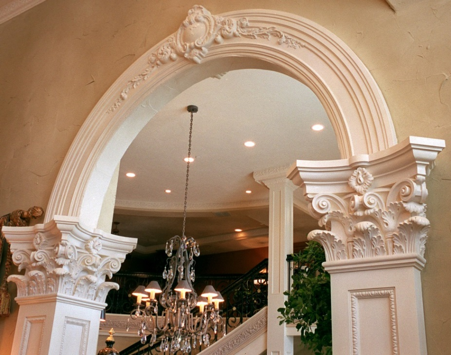 RWM Inc  Mouldings and Cove - archways, crown mouldings, radius