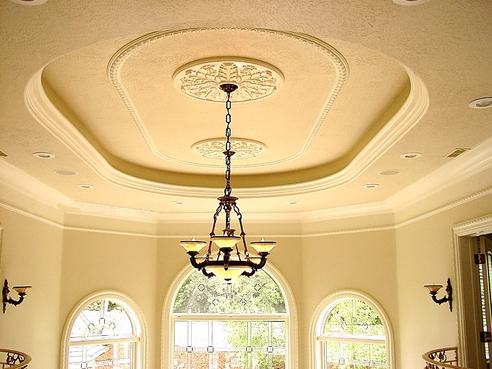 We Can Combine Crown Moulding Light Coves Medallions Window Casings Etc To Obtain The Precise Look You Want